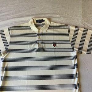 Polo golf Ralph Lauren striped crest polo t shirt